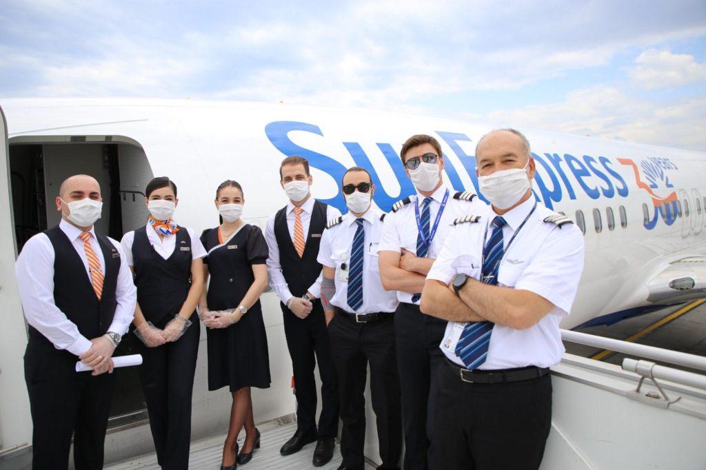 SunExpress havayolları 30 yıldır hizmet veriyor.