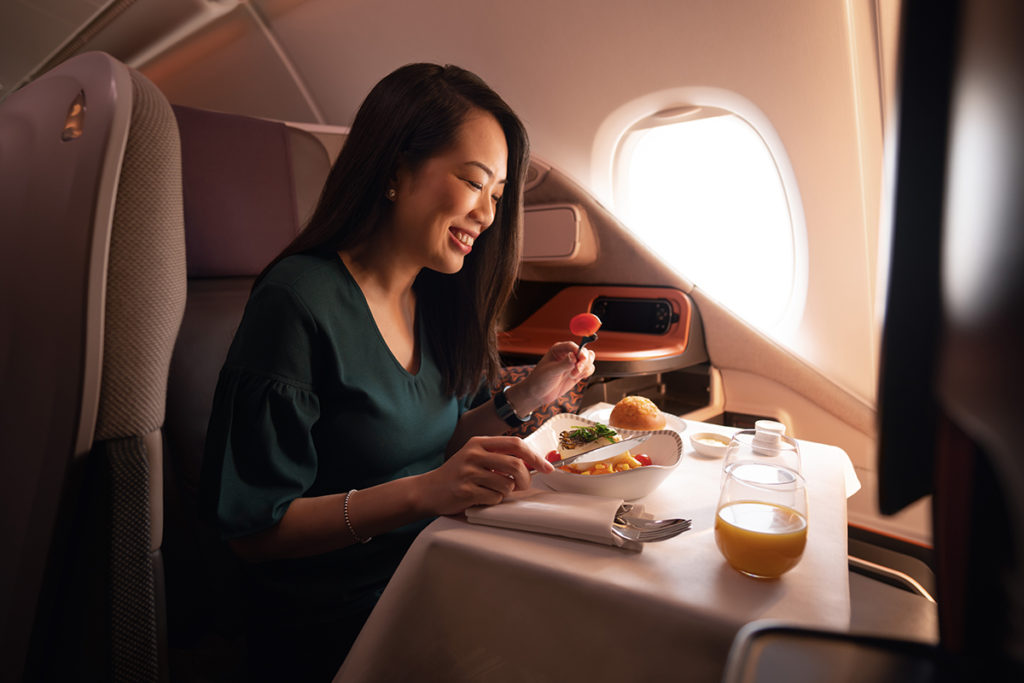 Singapur Airlines Business Class